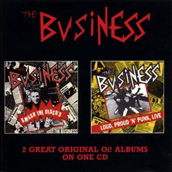 Business - Smash the discos/ Loud, proud and punk live, CD