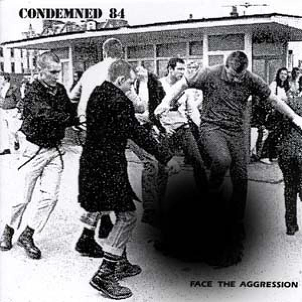 Condemned 84 - Face the Aggression, zensiertes Cover, CD