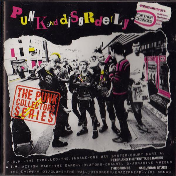 Sampler - Punk and disorderly, Further charges, CD