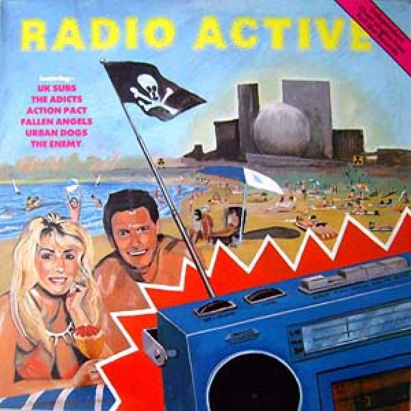 Sampler - Radio Active, LP