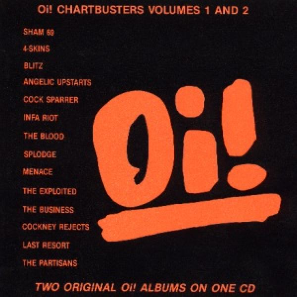 Sampler - Oi! Chartbusters, Vol. 1 und 2 (2 LPs on 1 CD)
