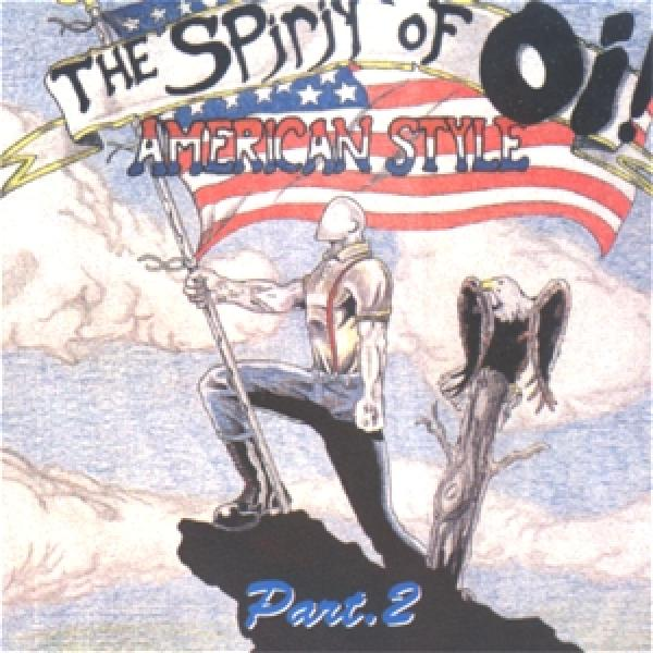 Sampler - The Spirit of Oi, Vol. 2, CD