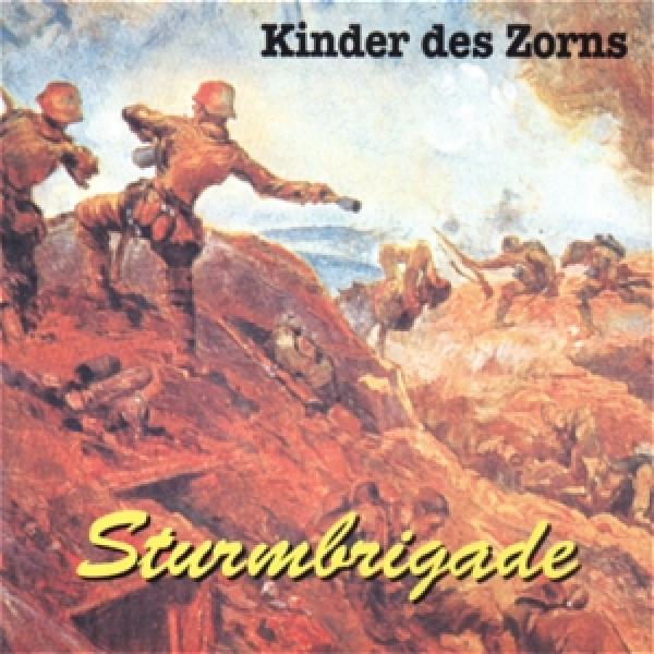 Sturmbrigade - Kinder des Zorns, CD