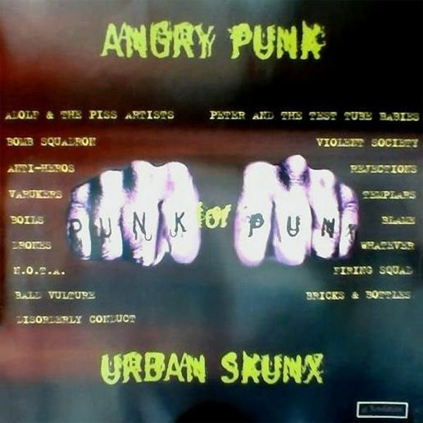 Sampler - Angry punk for urban skunx, CD
