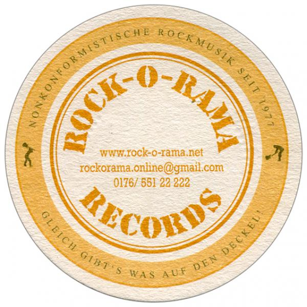 Bierdeckel - Rock-O-Rama Records
