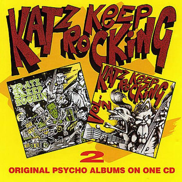 Sampler - Katz keep rocking, Vol. 1 + 2