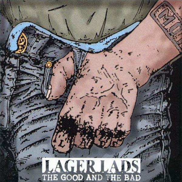 Lager Lads - The good and the bad, CD