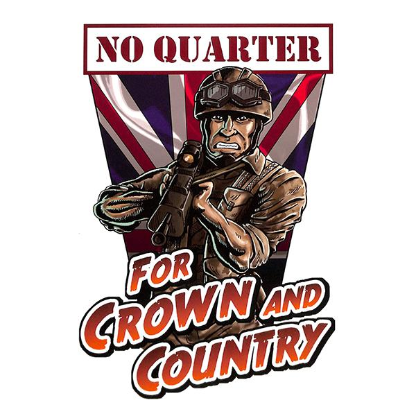 No Quarter - For crown and country, LP