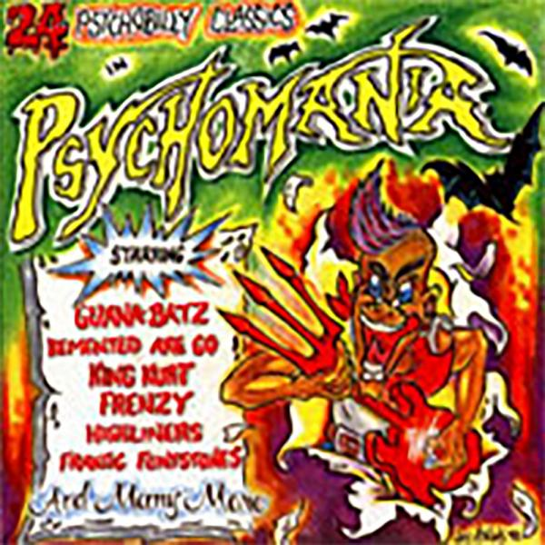 Sampler - Psychomania, Vol. 1, CD