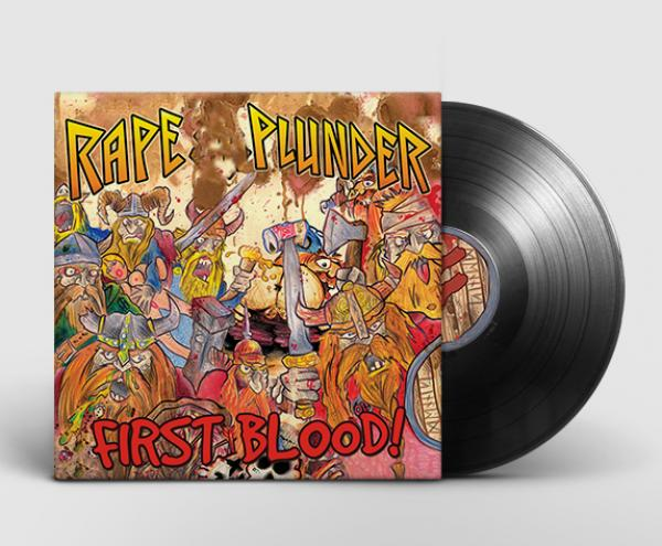 Rape & Plunder - First Blood, LP