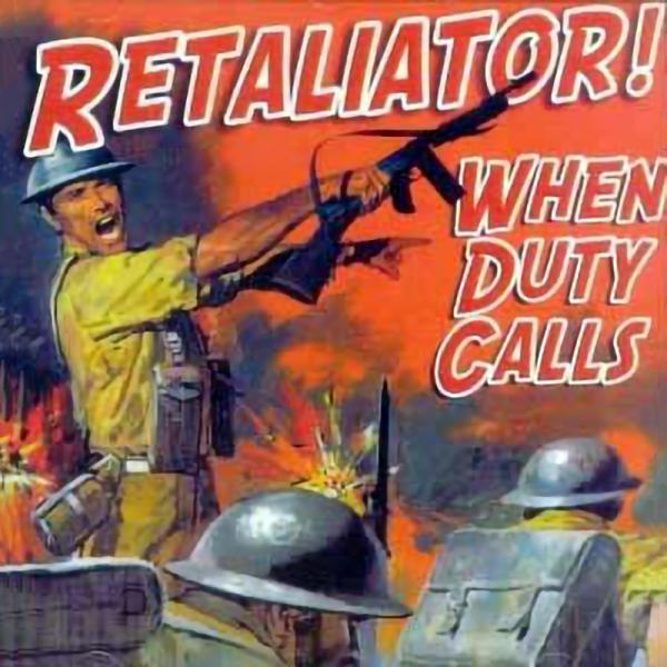 Retaliator - When duty calls, CD
