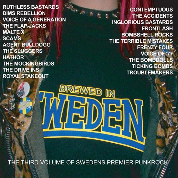 Sampler - Brewed in Sweden Vol. 3, CD