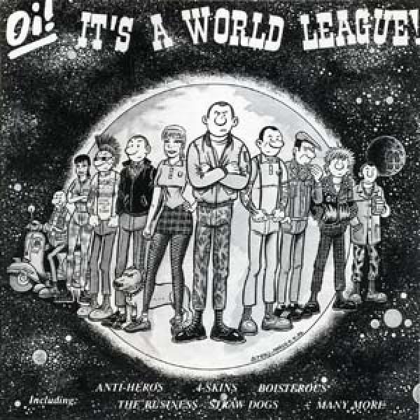 Sampler - Oi! Its a world league, CD