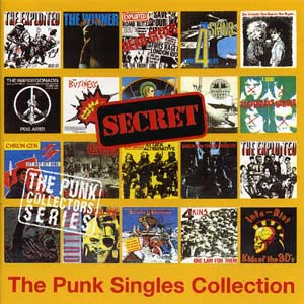 Secret Records - The Punk Singles Collection, CD
