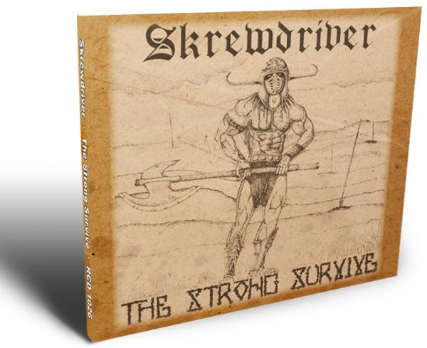 Skrewdriver - The Strong Survive (limitierte CD im aufklappbaren Pappschuber)