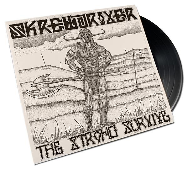Skrewdriver - The Strong Survive, Edition 2021, LP, Vinyl Schallplatte