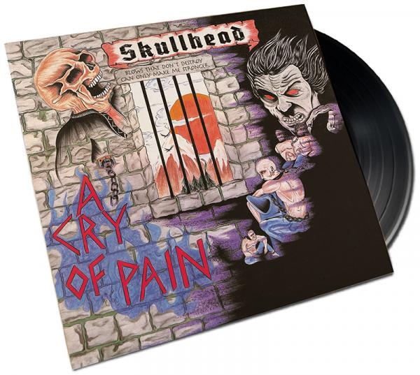 Skullhead - A Cry of Pain, Edition 2020, Vinyl LP