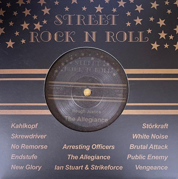 "The Allegiance - Rough Justice, 7"" Vinyl, Street RocknRoll"