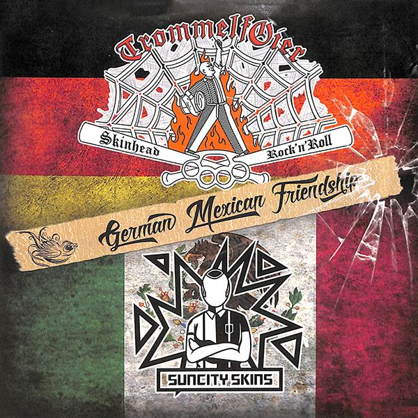 Trommelfoier / Suncity Skins - German Mexican Friendship, Vinyl EP