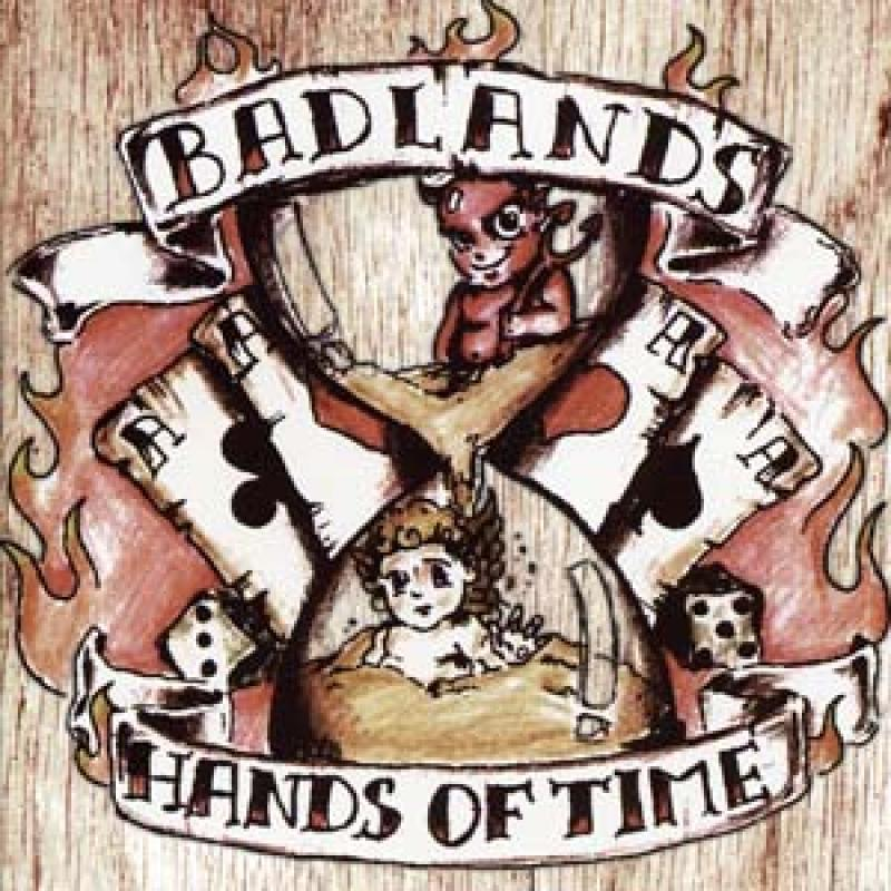 Badlands - Hands of time, CD