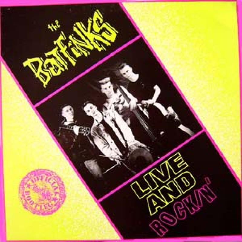 Batfinks - Live and Rockin, LP