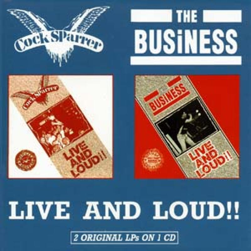 Cock Sparrer / Business - Live and Loud