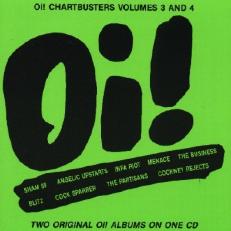 Sampler - Oi! Chartbusters, Vol. 3 und 4 (2 LPs on 1 CD)