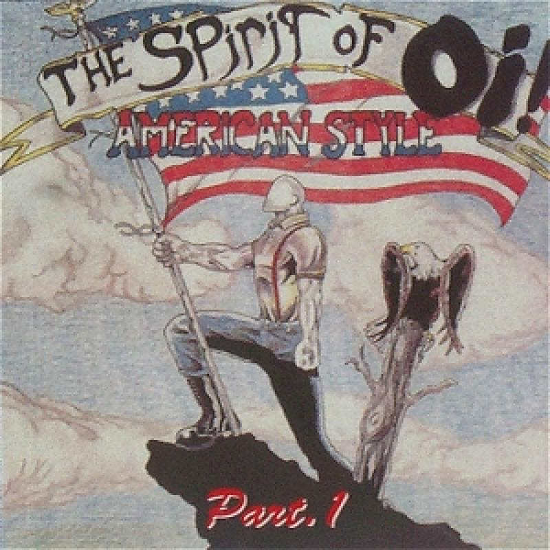 Sampler - The Spirit of Oi, Vol. 1, CD