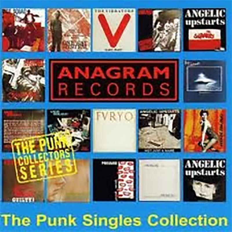 Sampler - Anagram Records, The Punk Singles Collection, CD