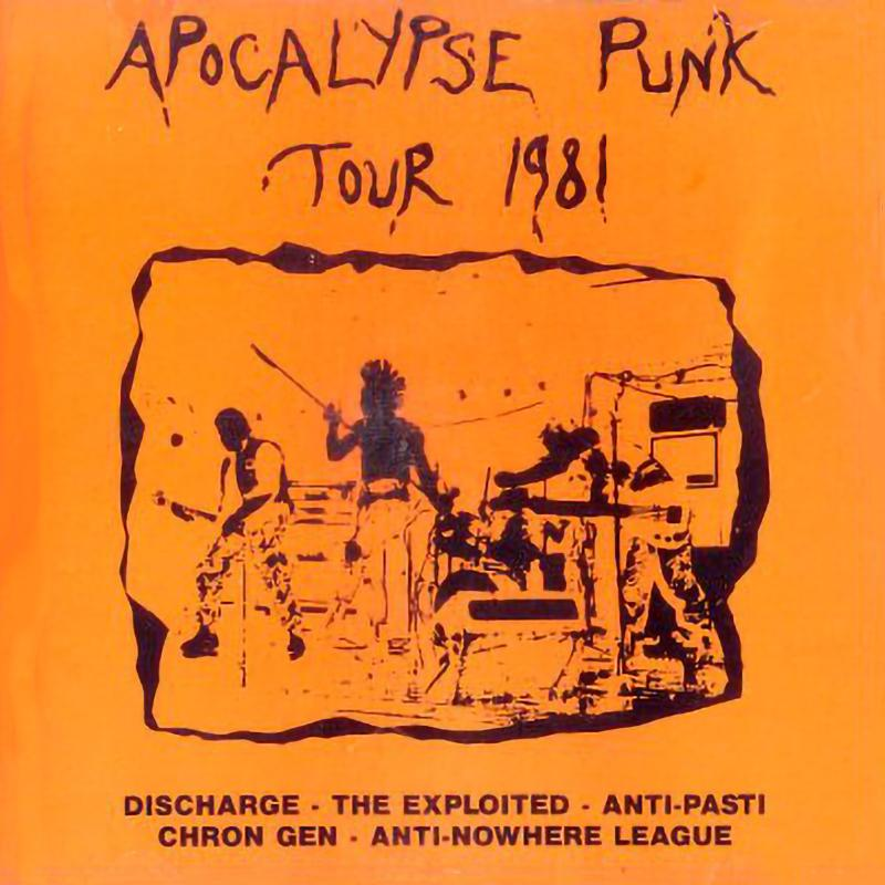 Sampler - The apocalypse Punk tour 1981
