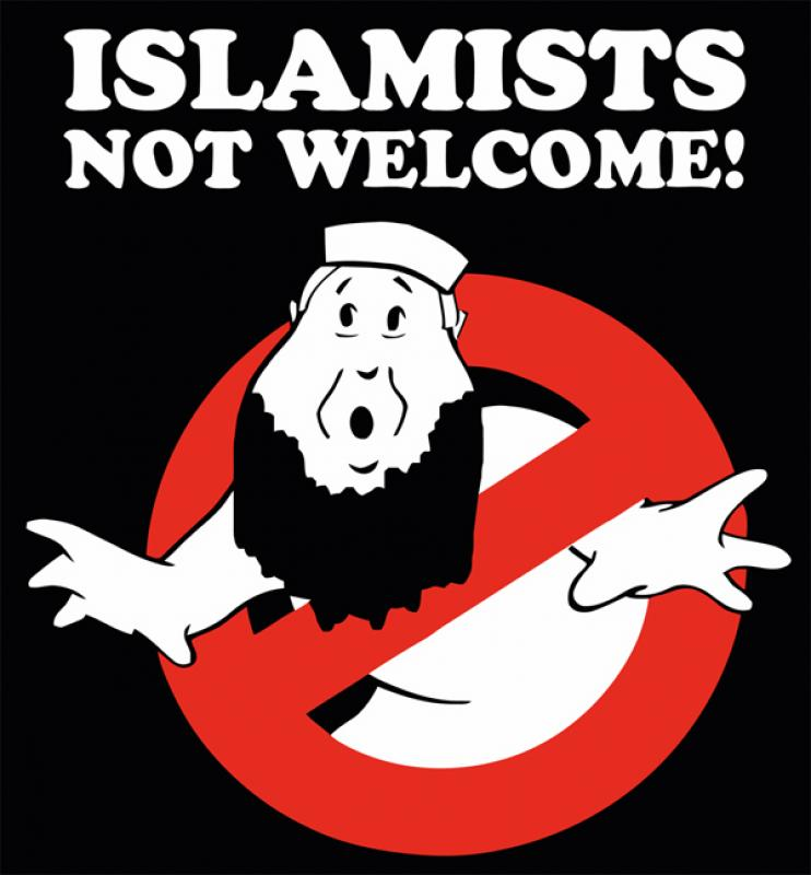 Aufkleber - Islamists Not Welcome