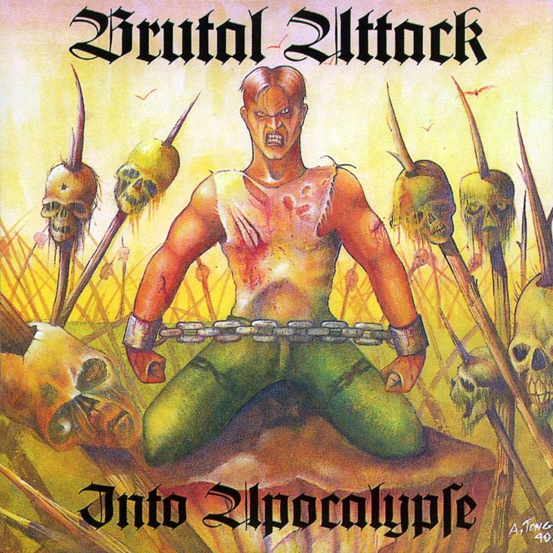 Brutal Attack - Into Apocalypse, CD