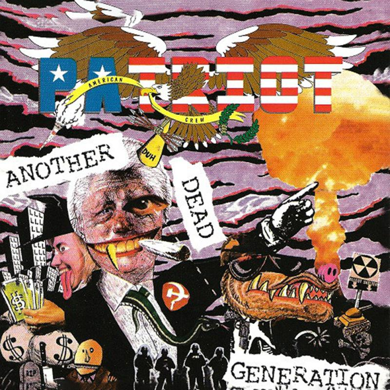 Patriot - Another dead generation, CD