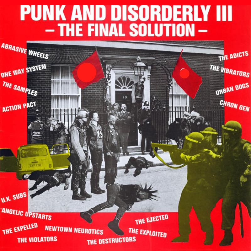 Sampler - Punk and Disorderly III, The final solution