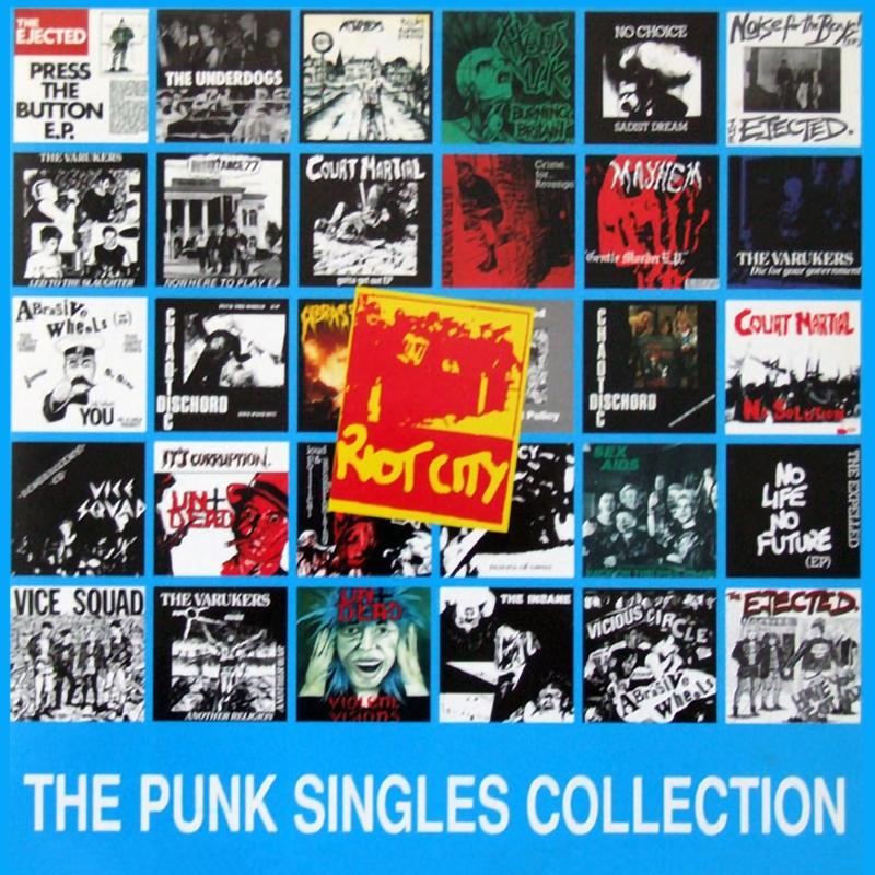 Sampler - Riot City, The Punk Singles Collection