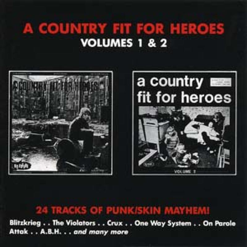 Sampler - A country fit for Heroes, Vol. 1 und 2, CD