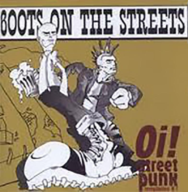 Sampler - Boots on the streets, Oi! Streetpunk Comp., Vol. 1, CD