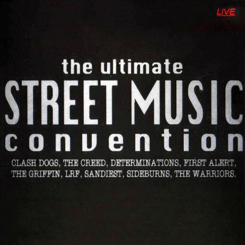 Sampler - The ultimate streetmusic convention, Live, CD