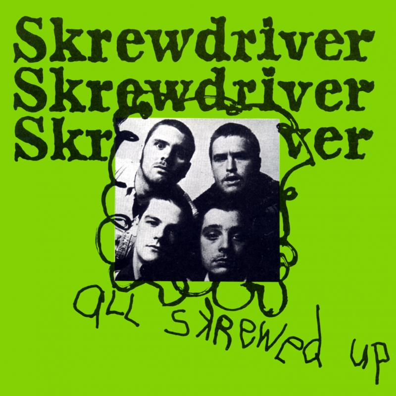 Skrewdriver - All skrewed up, CD