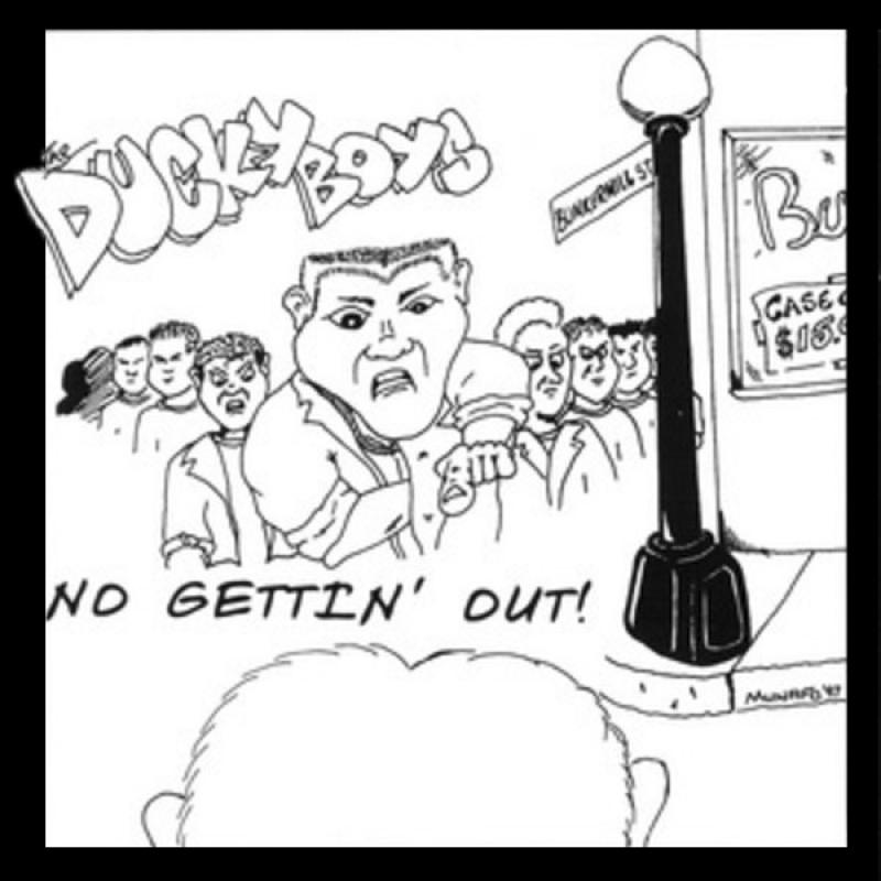 The Ducky Boys - No gettin out, CD