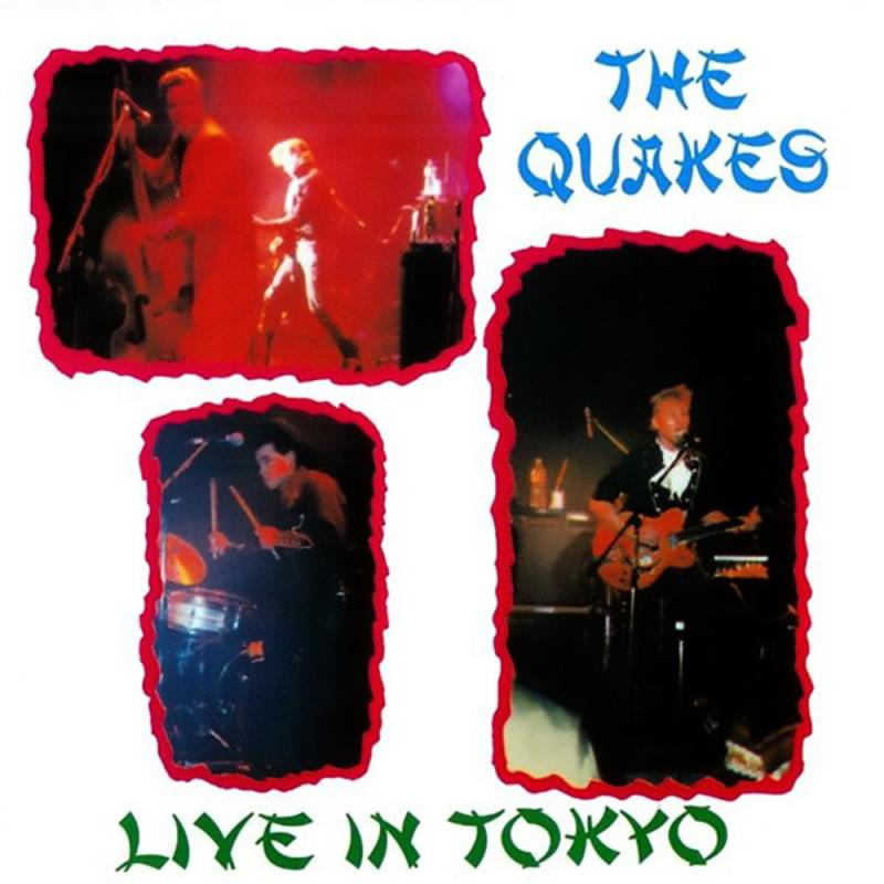Quakes - Live in Tokyo, CD